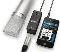 Интерфейс для iPOD/iPhone/iPAD Ik MULTIMEDIA iRIG PRE