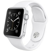 Умные часы Apple Watch Sport 38mm Silver Aluminum Case with Sport Band (white)