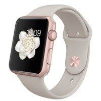 Умные часы Apple Watch Sport 42mm ROSE GOLD Aluminum Case with Sport Band (stone) CPO