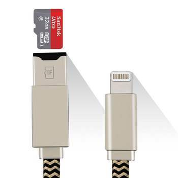 Переходник ELARI SmartCable USB 2.0 Flash Drive (ELSCL)