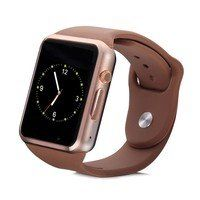 Умные часы UWatch Smart A1 Gold/Brown