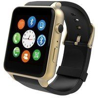 Умные часы SmartYou GT10 Smart Watch Gold/Black